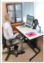 The majority of employees with sit to stand desks do not use them properly.